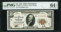 Small Size:Federal Reserve Bank Notes, Fr. 1860-C $10 1929 Federal Reserve Bank Note. PMG Choice Uncirculated 64 EPQ.. ...