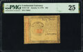Continental Currency January 14, 1779 $40 PMG Very Fine 25