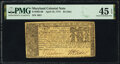 Maryland April 10, 1774 $4 PMG Choice Extremely Fine 45 EPQ
