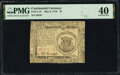 Continental Currency May 9, 1776 $1 PMG Extremely Fine 40