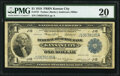 Fr. 737 $1 1918 Federal Reserve Bank Note PMG Very Fine 20