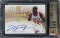 Basketball Cards:Singles (1980-Now), 2007 SP Authentic Michael Jordan Chirography Gold #CRMJ BGS Gem Mint 9.5, Auto 10 - #'d 4/25....