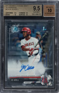 Baseball Cards:Singles (1970-Now), 2017 Bowman Chrome Draft Jo Adell (Autographs) #CDAJA BGS Gem Mint 9.5, Auto 10....