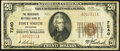 Fort Smith, AR - $20 1929 Ty. 1 The Merchants National Bank Ch. # 7240 Very Fine