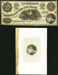 Obsoletes By State:Maryland, Cumberland, MD- Allegany County Bank $2 June 1, 1861 G4 Fine-Very Fine.. ... (Total: 2 items)