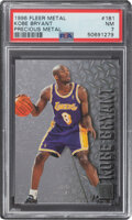 Basketball Cards:Singles (1980-Now), 1996 Fleer Metal Kobe Bryant (Precious Metal) #181 PSA NM 7....