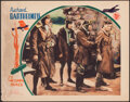 "Movie Posters:War, The Dawn Patrol (First National, 1930). Fine+. Lobby Card (11"" X 14""). War.. ..."