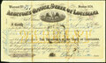 Obsoletes By State:Louisiana, New Orleans, LA- Auditor's Office, State of Louisiana $375 Warrant Jan. 27, 1875 Fine-Very Fine.. ...