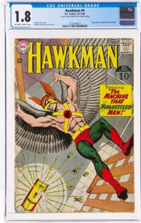 Hawkman #4 (DC, 1964) CGC GD- 1.8 Off-white to white pages