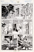 Original Comic Art, Carmine Infantino and Doug Hazlewood Power Factor #2 Story Page 16 Original Art (Pied Piper Comics, 1988)....