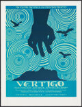 Movie Posters:Hitchcock, Vertigo by David O'Daniel (Alien Corset, 2009). Rolled, Very Fine/Near Mint. Signed and Numbered Limited Edition Screen Prin...