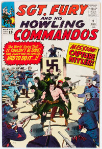 Sgt. Fury and His Howling Commandos #9 (Marvel, 1964) Condition: VF