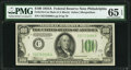 Fr. 2153-C $100 1934A Mule Federal Reserve Note. PMG Gem Uncirculated 65 EPQ