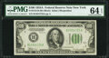 Small Size:Federal Reserve Notes, Fr. 2153-B $100 1934A Federal Reserve Note. PMG Choice Uncirculated 64 EPQ.. ...