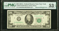 Error Notes:Mismatched Serial Numbers, Mismatched Serial Numbers Error Fr. 2074-B $20 1981A Federal Reserve Note. PMG About Uncirculated 53 EPQ.. ...