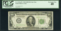 Fr. 2152-D* $100 1934 Dark Green Seal Federal Reserve Note. PCGS Extremely Fine 40