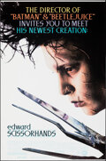 """Movie Posters:Fantasy, Edward Scissorhands & Other Lot (20th Century Fox, 1990). Rolled, Very Fine+. One Sheets (2) (27"""" X 41"""" & 26.75"""" X 39.5) SS.... (Total: 2 Items)"""
