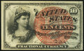 Fractional Currency:Fourth Issue, Fr. 1258 10¢ Fourth Issue Very Fine-Extremely Fine.. ...