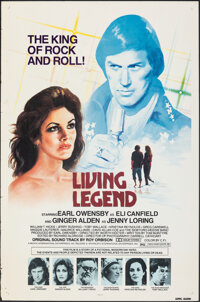 """Living Legend (Pacific International, 1979). Rolled, Fine/Very Fine. One Sheets (2) Identical (27"""" X 41""""). Roc..."""