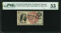 Fractional Currency:Fourth Issue, Fr. 1269 15¢ Fourth Issue PMG About Uncirculated 53.. ...