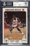 Basketball Cards:Singles (1980-Now), 1985 Interlake/Boy Scouts Michael Jordan BGS NM/MT+ 8.5. ...