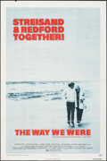 """Movie Posters:Romance, The Way We Were (Columbia, 1973). Folded, Fine+. One Sheet (27"""" X 41""""). Romance.. ..."""