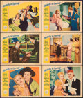 "Movie Posters:Musical, Melody in Spring (Paramount, 1934). Fine/Very Fine. Lobby Cards (6) (11"" X 14""). Musical. From the Collection of Frank Bux... (Total: 6 Items)"