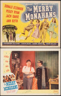 """Movie Posters:Musical, The Merry Monahans (Universal, 1944/Realart, R-1950). Fine/Very Fine. Title Lobby Card & Autographed Lobby Card (11"""" X 14"""").... (Total: 2 Items)"""