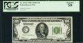 Fr. 2151-C $100 1928A Federal Reserve Note. PCGS About New 50