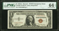 Small Size:World War II Emergency Notes, Fr. 2300 $1 1935A Hawaii Silver Certificate. PMG Choice Uncirculated 64 EPQ.. ...
