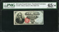 Fr. 1376 50¢ Fourth Issue Stanton PMG Gem Uncirculated 65 EPQ*