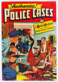 Authentic Police Cases #7 (St. John, 1950) Condition: VG+
