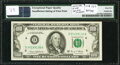 Insufficient Inking of Back Printing Error Fr. 2166-D $100 1969C Federal Reserve Note. PMG Gem Uncirculated 65 EPQ