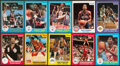 Basketball Cards:Lots, 1983 to 1986 Star Co. Basketball Collection (63). ...