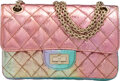 Luxury Accessories:Bags, Chanel Limited Edition Iridescent Quilted Aged Goat Skin 2.55 Reissue - 224 Flap Bag with Gold Hardware. Condition: 1. ...