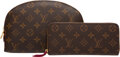 Luxury Accessories:Accessories, Louis Vuitton Set of Two: Cosmetic Pouch and Wallet. Condition: 2. See Extended Condition Report for Sizes.. ... (Total: 2 Items)