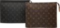 Luxury Accessories:Bags, Louis Vuitton Set of Two: Voyage Pochette and Toiletry Pouch. Condition: 1. See Extended Condition Report for Sizes.... (Total: 2 Items)