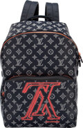 """Luxury Accessories:Bags, Louis Vuitton Limited Edition Ink Monogram Coated Canvas Upside Down Apollo Backpack. Condition: 1. 12"""" Width x 16"""" He..."""