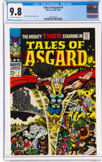 Tales of Asgard #1 (Marvel, 1968) CGC NM/MT 9.8 Off-white to white pages
