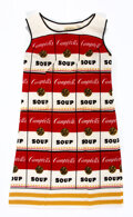 Other, Andy Warhol X Campbell's Soups. The Souper Dress, 1968. Screenprint in colors on cellulose and cotton dress. 37-1/2 x 21...