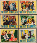 "Movie Posters:Comedy, The Body Disappears (Warner Bros., 1941). Overall: Fine/Very Fine. Title Lobby Card & Lobby Cards (5) (11"" X 14""). Comedy.. ... (Total: 6 Items)"