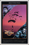 """Movie Posters:Action, Navy Seals (Orion, 1990). Rolled, Overall: Fine+. Autographed One Sheet (27"""" X 41"""") DS, & Autographed Japanese One Sheet (28... (Total: 2 Items)"""