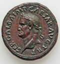 Ancients:Roman Imperial, Ancients: Galba (AD 68-69). AE sestertius (35mm, 26.18 gm, 7h). About XF, tooled. ...