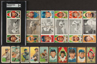 1909-1912 E95, T206, T205, T201 Baseball Collection (16)
