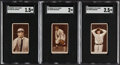 Baseball Cards:Lots, 1912 T207 Recruit Little Cigars Brown Border Collection (78) With Johnson. ...