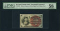 Fractional Currency:Fourth Issue, Fr. 1261 10¢ Fourth Issue PMG Choice About Unc 58.. ...