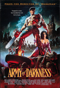 """Army of Darkness (Universal, 1992). Rolled, Very Fine-. One Sheet (26.75"""" X 39.75"""") DS, Michael Hussar Artwork..."""