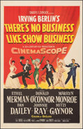 """Movie Posters:Musical, There's No Business Like Show Business (20th Century Fox, 1954). Fine+ on Linen. One Sheet (27"""" X 41.5""""). Musical.. ..."""