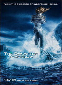 """The Day After Tomorrow (20th Century Fox, 2004). Rolled, Very Fine+. One Sheets (2) (27"""" X 40"""") DS Advance, 2..."""