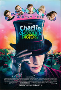 """Charlie and the Chocolate Factory (Warner Bros., 2005). Rolled, Very Fine/Near Mint. One Sheet (27"""" X 40"""") DS..."""